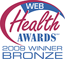 Web Health Awards Winner Badge